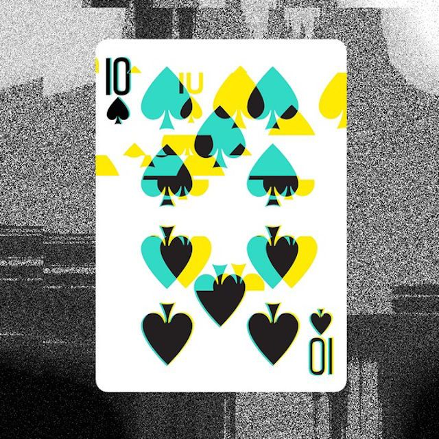 Reality Bending Playing Cards Playing Cards Design Playing