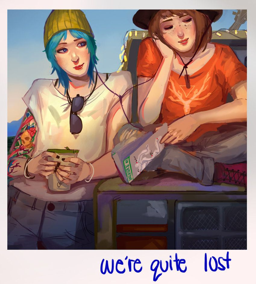 This Pricefield polaroid is too cute! BTW I love Chloe's hair (more like envy), and Max's expression