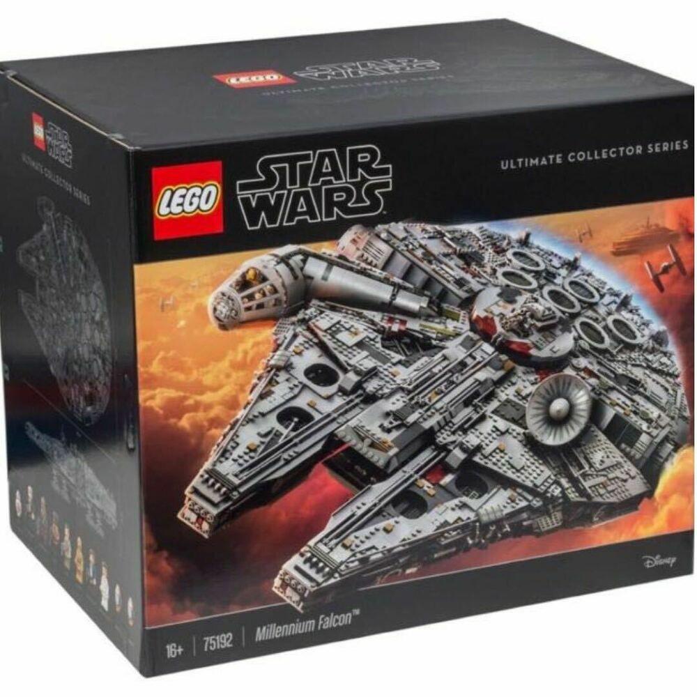 Lego 75192 Star Wars Millennium Falcon 7541 Pcs New Sealed Lego Millenium Falcon Lego Millenium Millennium Falcon