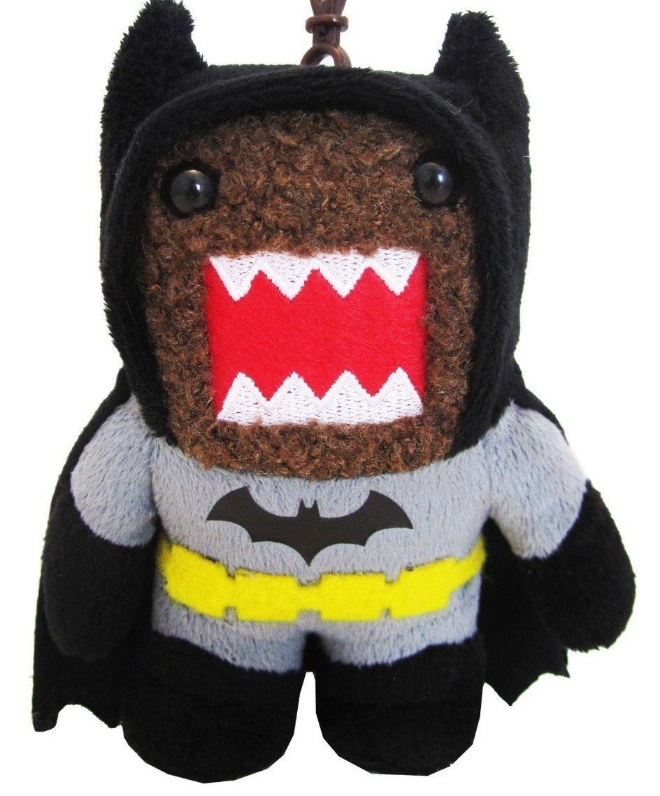 Dark Knight Batman Domo 4 Pouces Peluche Clip On