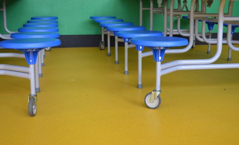 Gerflor taralay vinyl kinderdagverblijf schellaert via