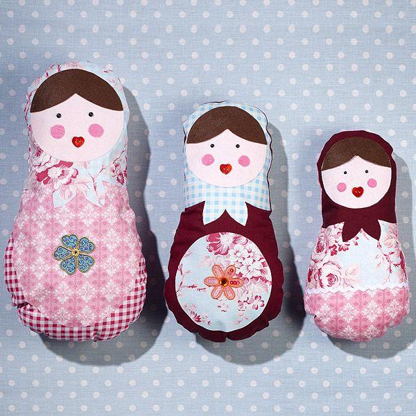Russian dolls; ohje ja kaavat
