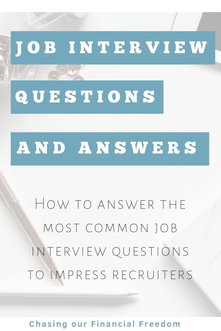 Interview Questions And Answers Examples | Common ...