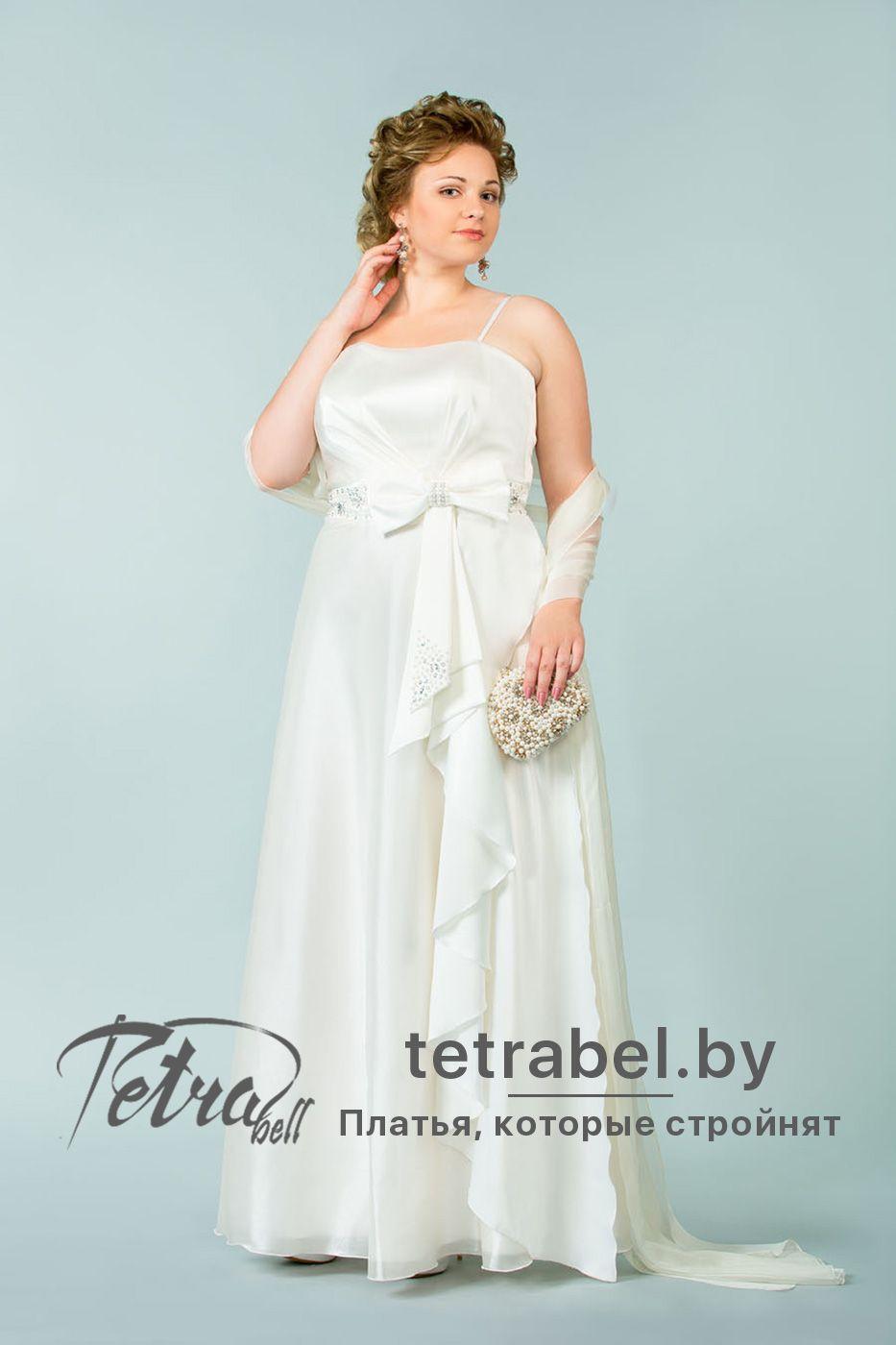 f3138f2feed Изящное и романтичное свадебное платье для полных женщин подойдет для  большинства типов фигур. Свадебные платья больших размеров от tetrabel.by.