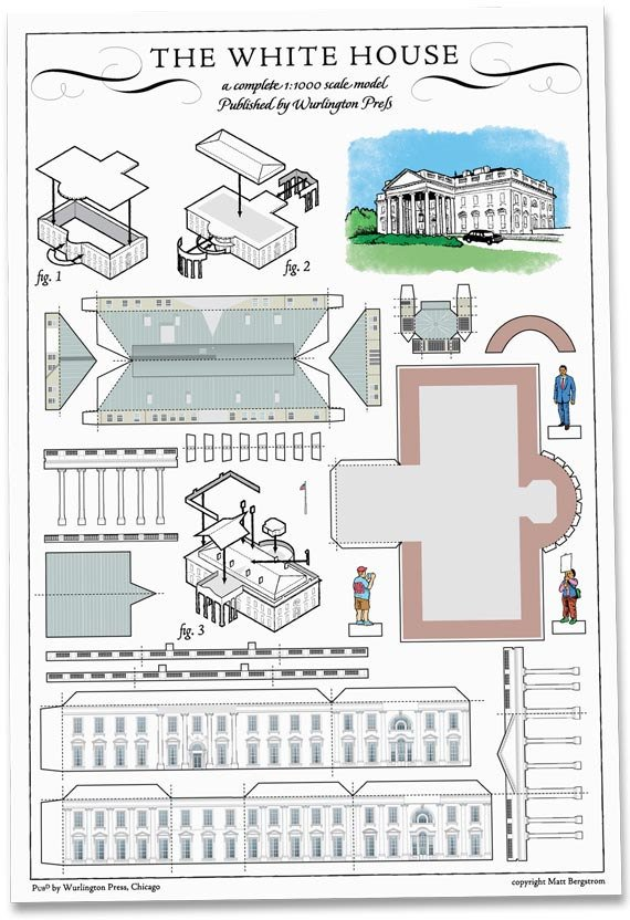 Fabulous Build Your Own Dc Architectural Paper Model Postcards Download Free Architecture Designs Rallybritishbridgeorg