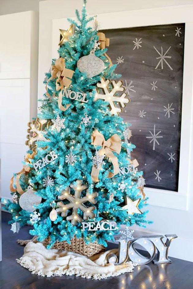 100 fotos e ideas sobre cómo decorar un árbol de navidad este 2017 ...