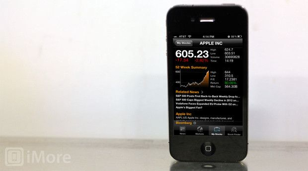 Free Bloomberg app for iPhone