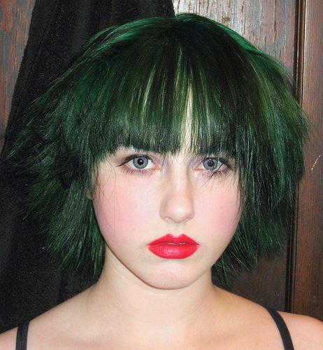 Forest Green Hair | Perfect hair, Hair inspiration, Oil ...