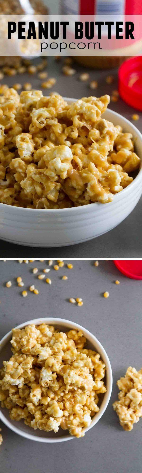 Peanut Butter Popcorn - Taste and Tell
