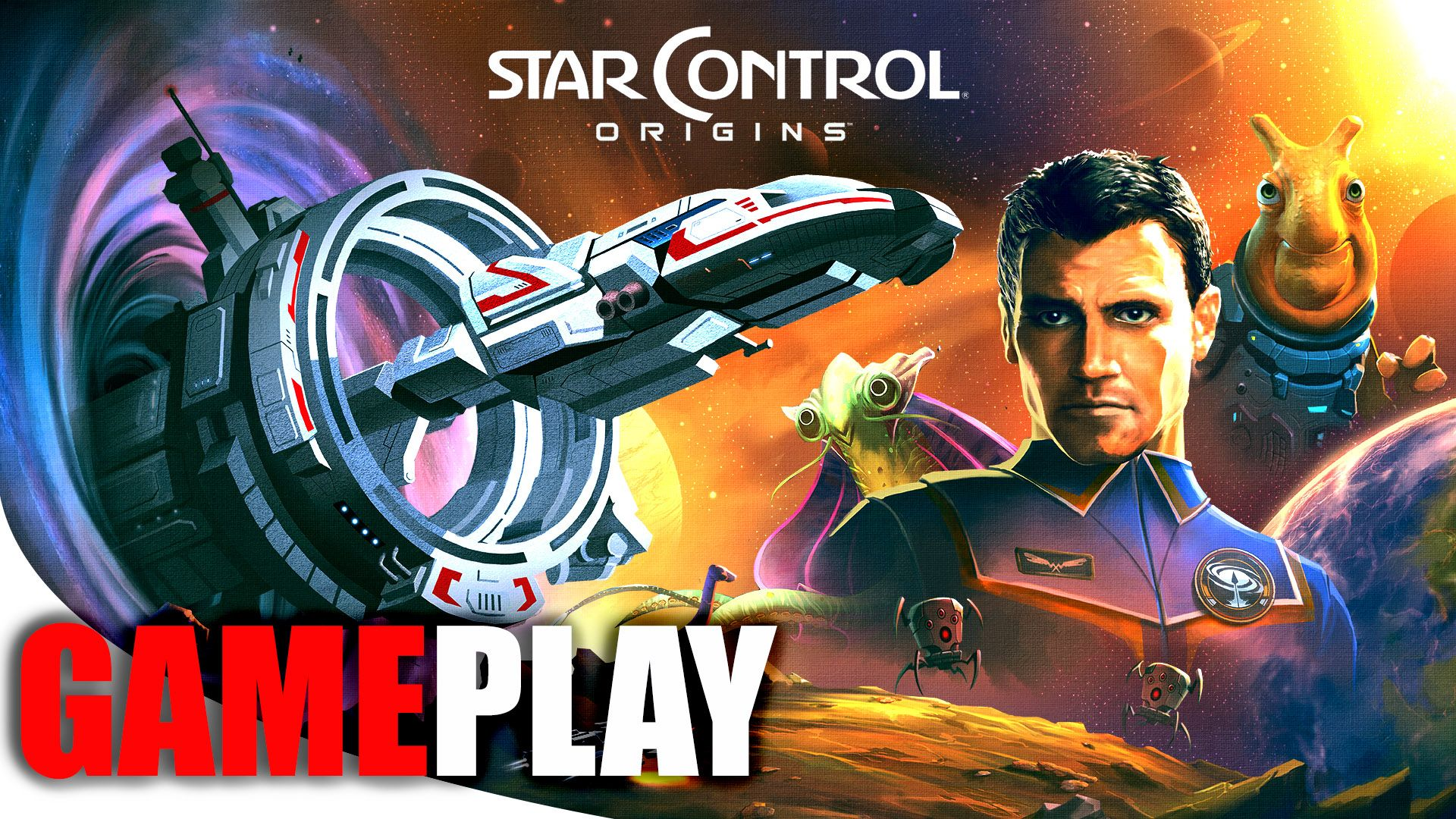 Star Control Origins is a space roleplaying game in which