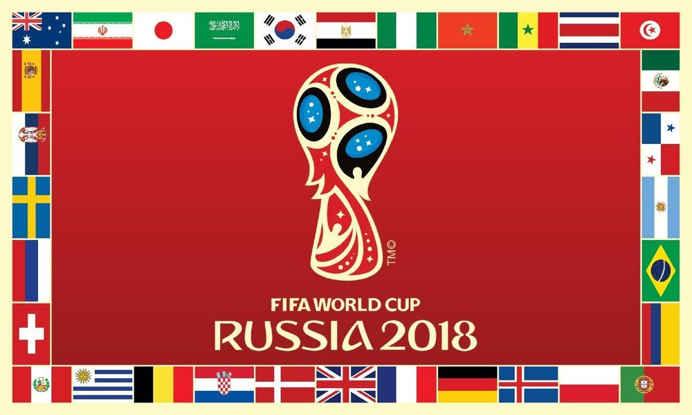 Fifa World Cup Russia 2018 Flag 4x6 Custom Weatherproof Banner 120x180cm Ebay World Cup Russia 2018 World Cup Fifa World Cup
