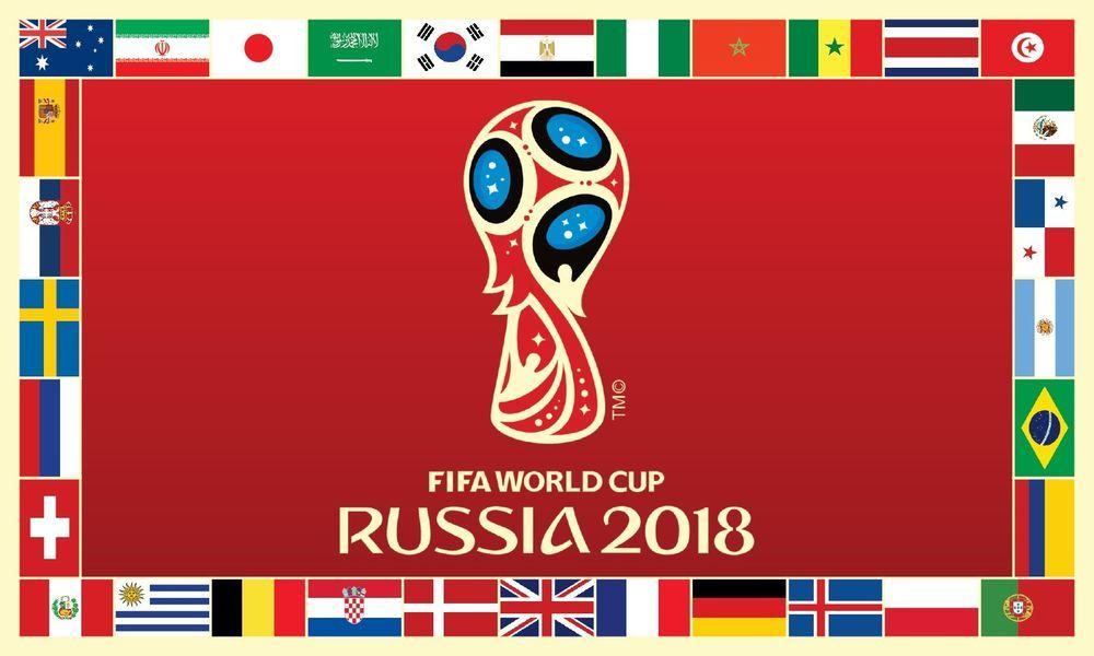 Fifa World Cup Russia 2018 Flag 4x6 Custom Weatherproof Banner 120x180cm Ebay World Cup World Cup 2018 Teams Soccer World Cup 2018