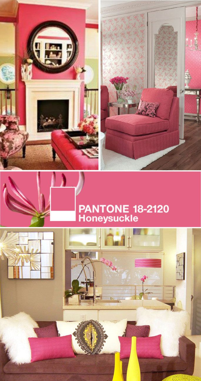 Honeysuckle - I adore this color pink | ZZZZ House Ideas | Pinterest ...