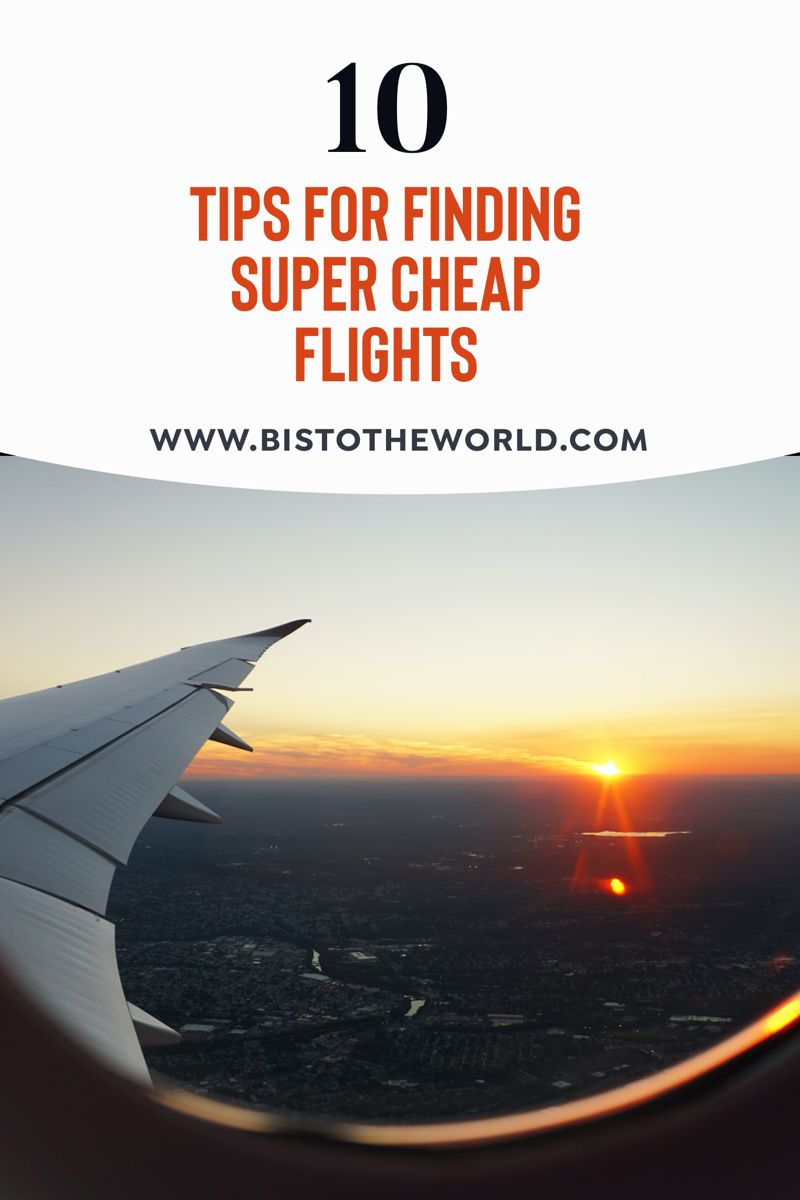 For a lot of people the thing stopping them from travelling is not being able to afford it. And flights tend to be the most expensive part of any trip. So I've put together 10 tips on how to find cheap flight deals! #cheapflights #cheapflying #traveldeals #flightdeals #travelaffordable #findcheapflights #travelmoney #cheaptravel