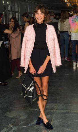Marvelous Alexa Chung In Chanel Da House Of Holland