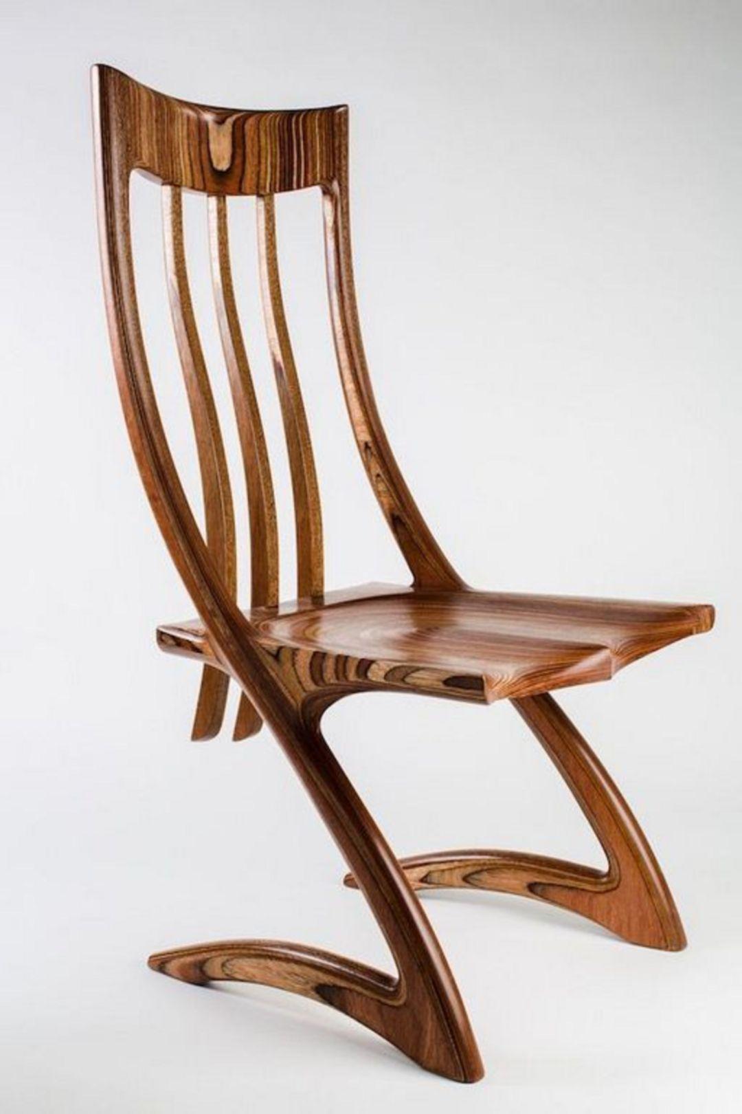 20 unique wooden chair designs for your elegant minimalist