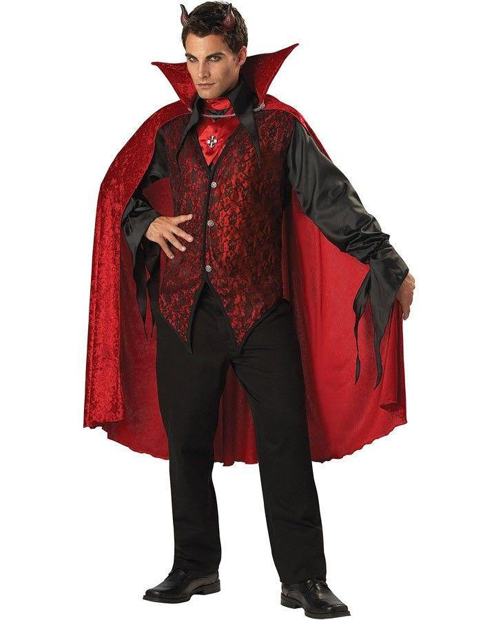 Sinister Devil Mens Costume Halloween costumes, masks, makeup - teenage couple halloween costume ideas