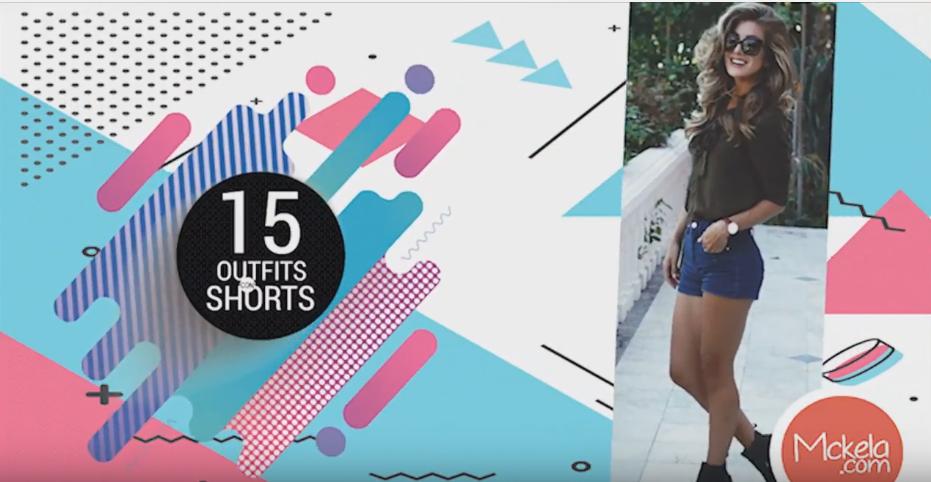 20de403981 15 outfits con shorts para primavera verano -  Youtube!