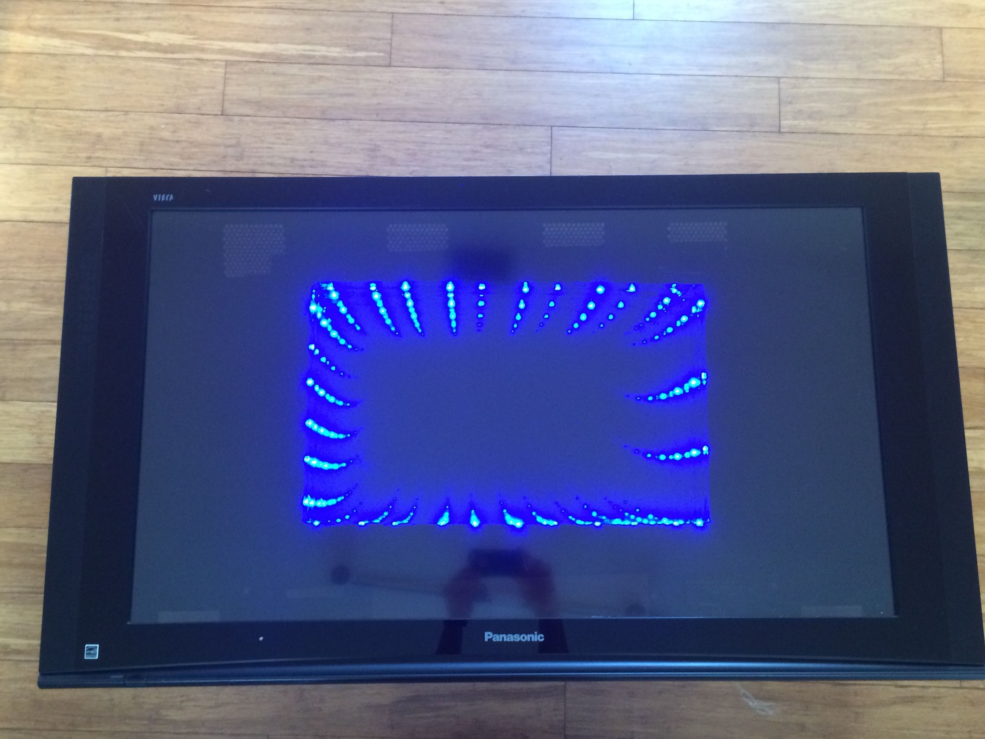 Repurposing old flat screen tv into an infinity mirror coffee