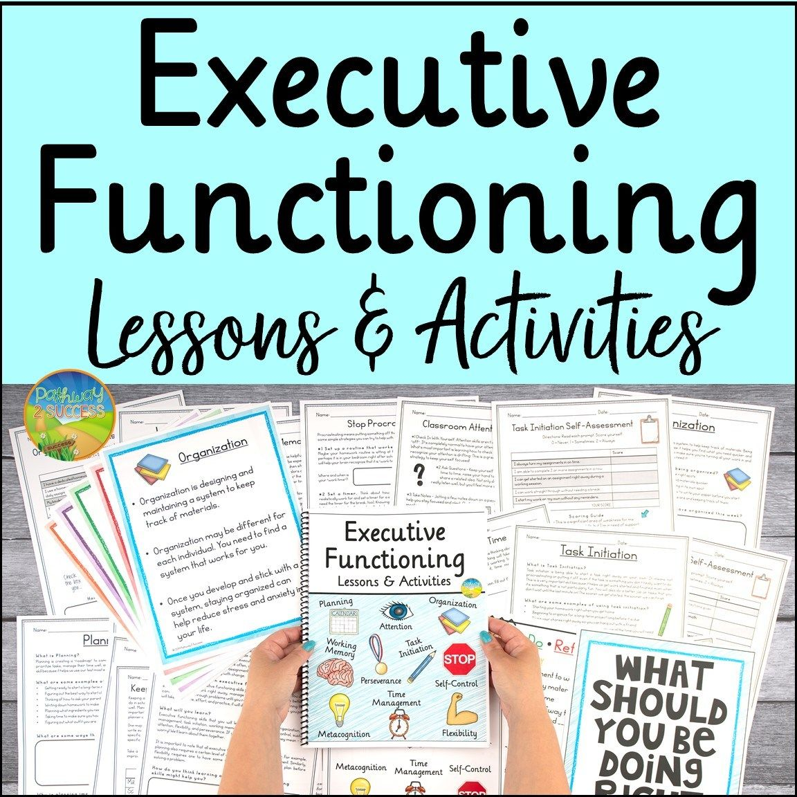 Executive Functioning Resources In