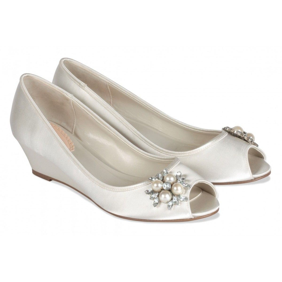 Paradox Pink Frosting Ivory Dyeable Wedding Shoes Dyeable Wedding Shoes Wedding Shoes Heels Wedding Shoes Low Heel