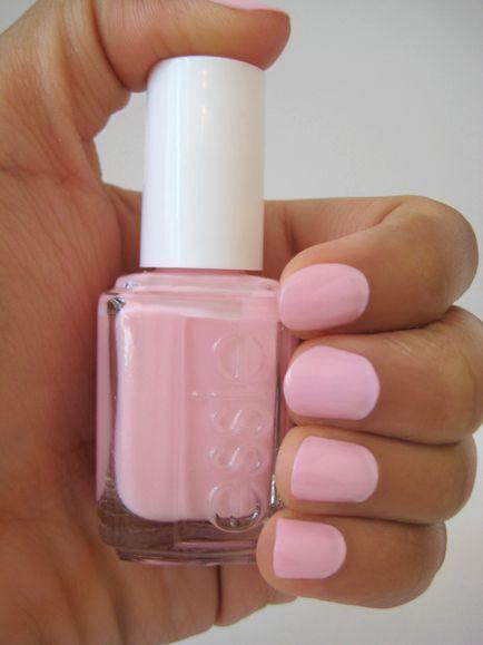 essie Fiji I the perfect pale pink   Nails, Cute nails ...