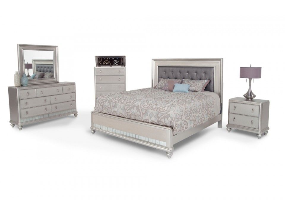 Diva 8 Piece Queen Bedroom Set | #Client #Ideas :: #Truorder ...