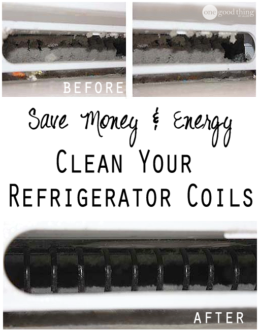 how to clean kenmore refrigerator condenser coils