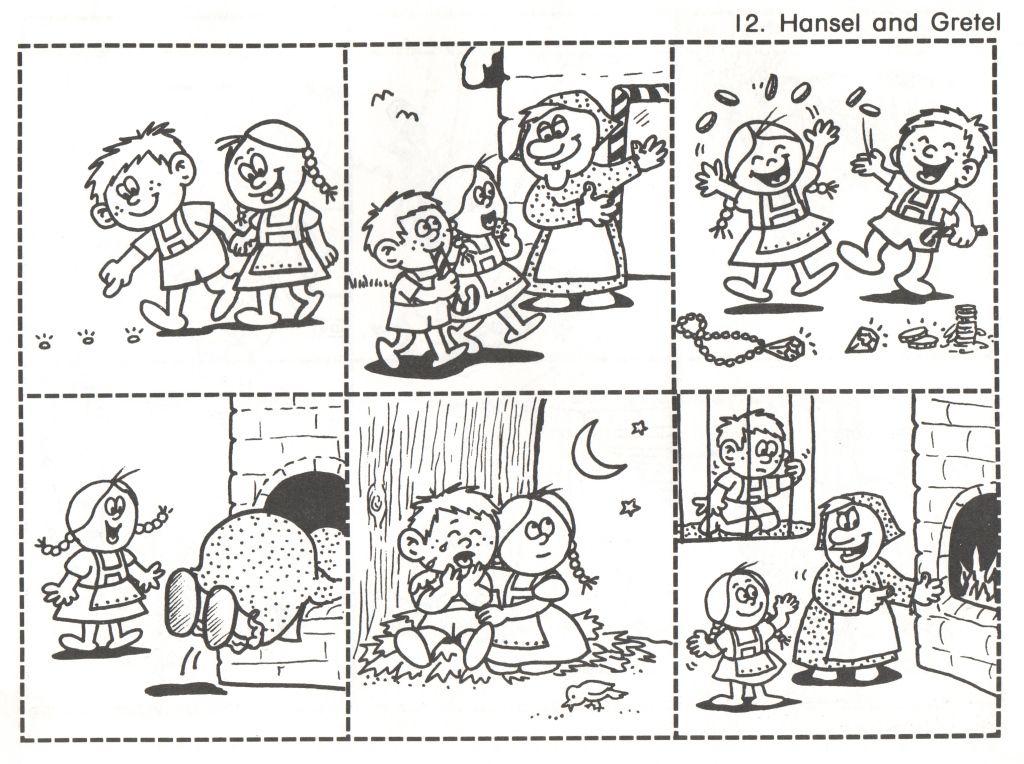 12 – Hansel and Gretel   Fairy tale activities, Fairy tales ...