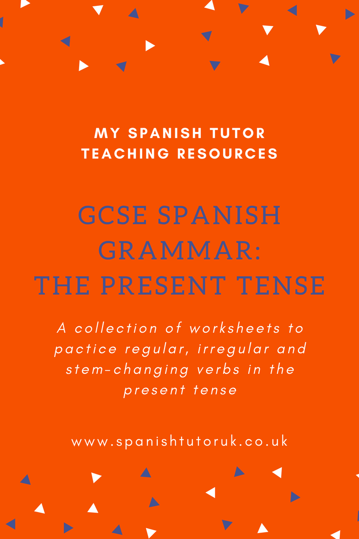 Worksheets Stem Changing Verbs Worksheet spanish present tense a series of worksheet covering regular irregular and stem changing verbs verbos pinterest worksheets