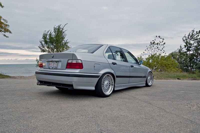 Bmw E36 M3 Silver Bbs Style5 Bmw
