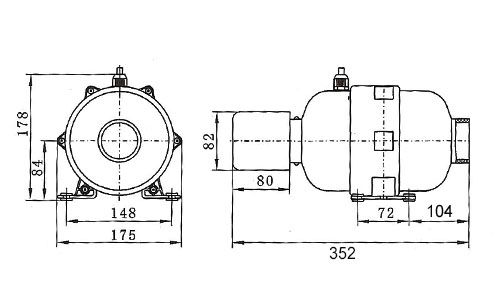 apw dimensions blower