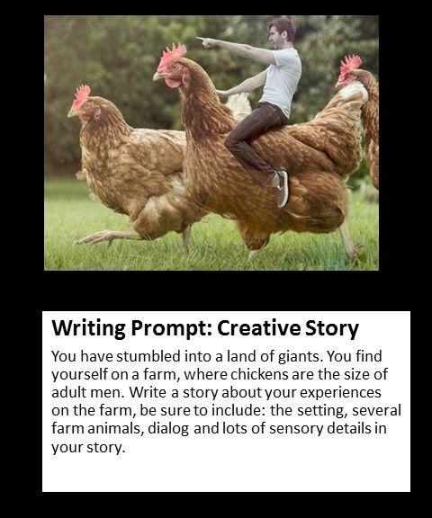 Creative story writing topics