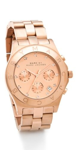 Marc by Marc Jacobs Large Blade Chrono Watch | SHOPBOP | Use Code: EXTRA25 for 25% Off Sale Items