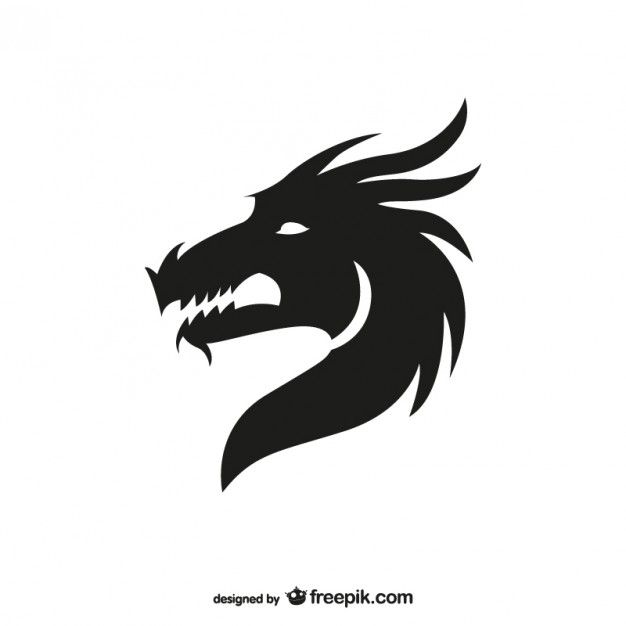 Dragon Vectors, Photos and PSD files | Free Download | Crafts ideas