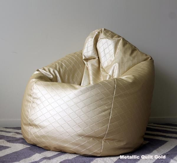 Blob Beanbags Metallic Gold Beanbag 169