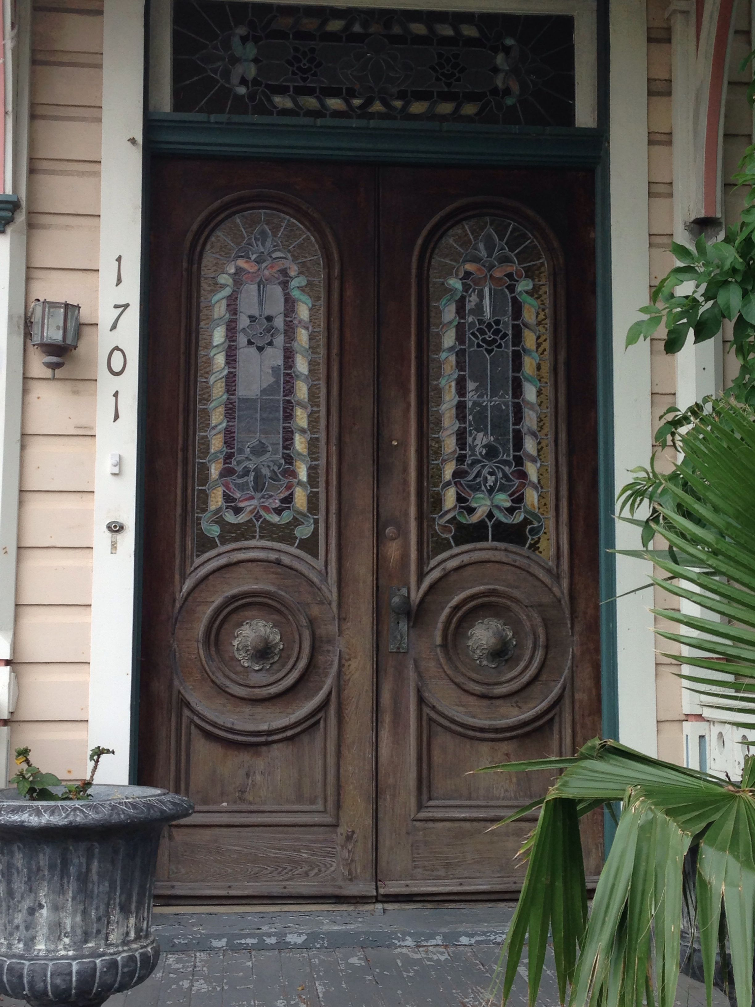 Historic Galveston Texas doors