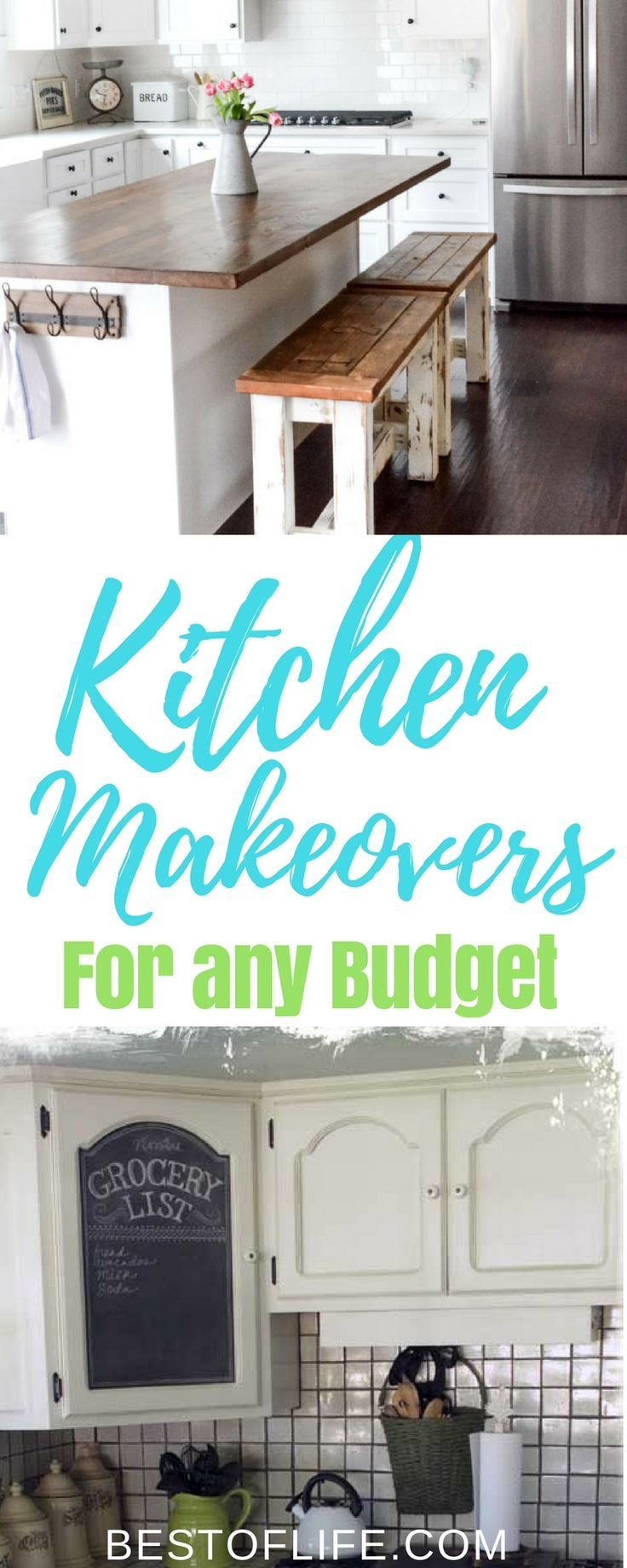 DIY Kitchen Makeover Ideas for any Budget | Diy kitchen ideas ...