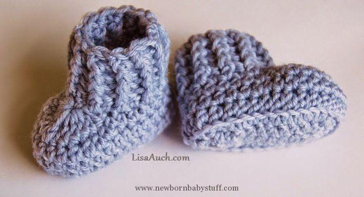Crochet Baby Booties 10 Minute Easy Crochet Booties Free Crochet