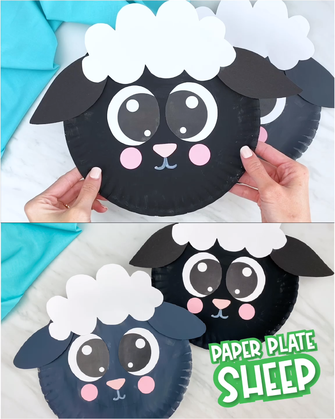 Photo of Paper Plate Sheep Craft