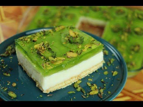 حلوى باردة في 10 دقائق بدون فرن حلى الكيوي البارد مع رباح محمد Youtube Desserts Food Sweets