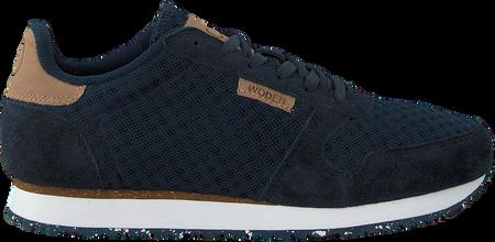 Blaue Woden Sneaker Ydun Suede Mesh Damen #OMODA #Woden