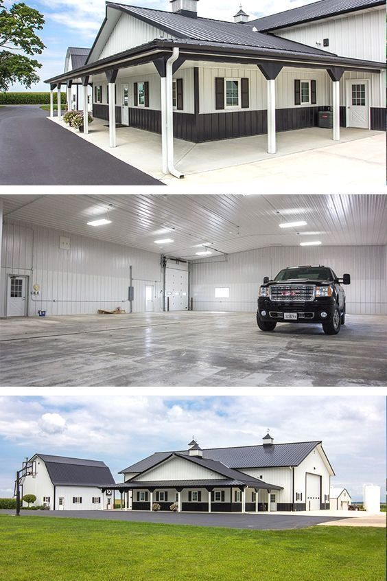 10+ Great Ideas for Modern Barndominium Plans #barndominiumideas