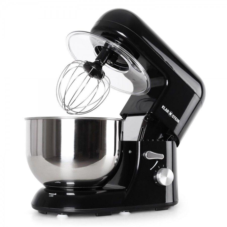 Keukenmachine - Mixer - Bella Nera- 1200W - 5 liter - zwart   Mixers