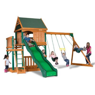 Backyard Discovery Montego Bay All Cedar Swing Set 65714com,    #Backyard_Discovery_65714com