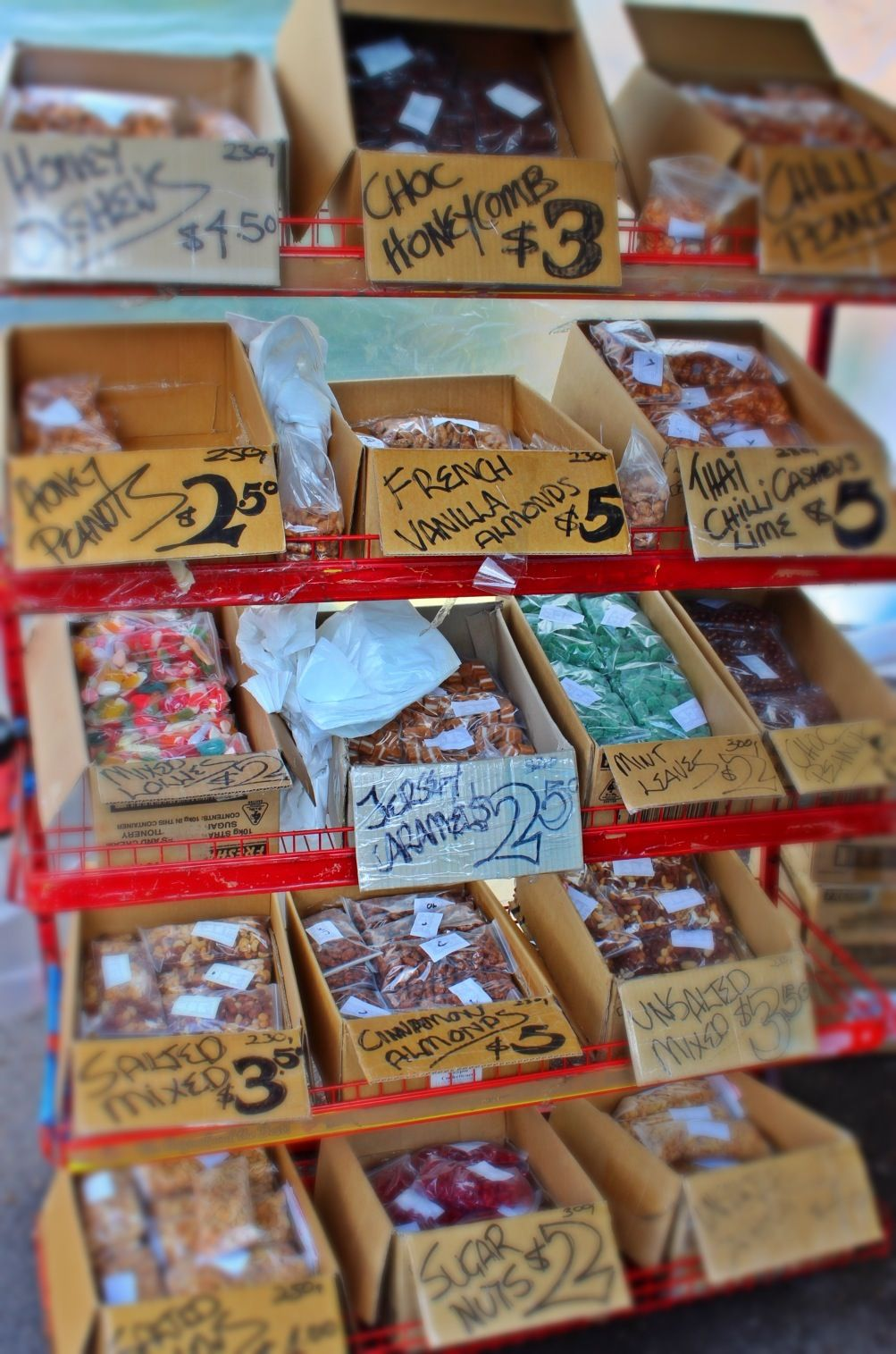 Good old fashioned lolly stall | Candy Stall | Christmas