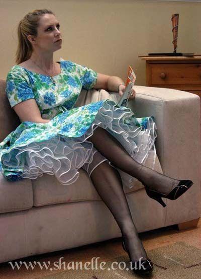 up dress Spank me