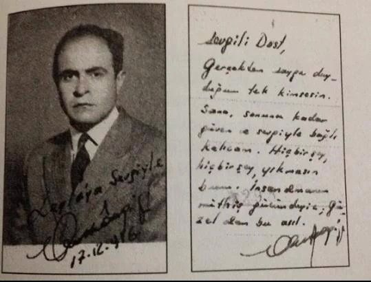 1956 Ahmet Arif Leyla Erbil E Gonderdigi Notlardan Birinde Ona Olan Hislerinden Bahsediyor Kitapcilar Kitap Alintilari Kitap