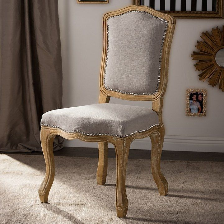 Baxton studio french farmhouse dining chair side chairs