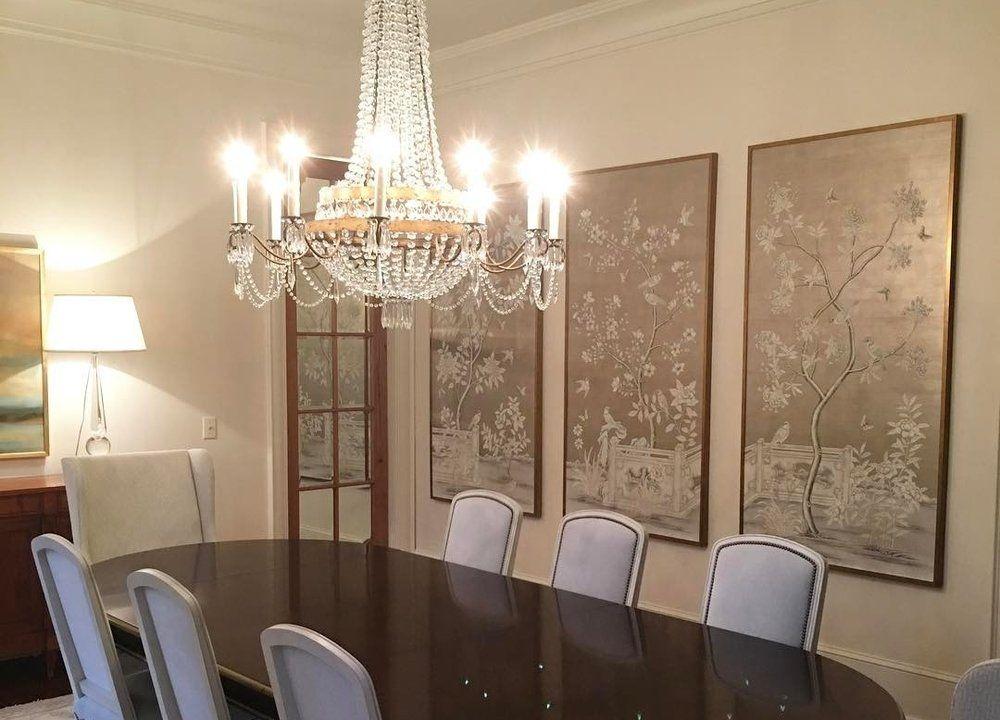 Framed Wallpaper Panels   Rivers Spencer   Gracie   De Gournay   Schumacher    Trade Only